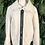 Thumbnail: Faux sheepskin zip down jacket
