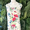 Thumbnail: 90s floral tie back dress