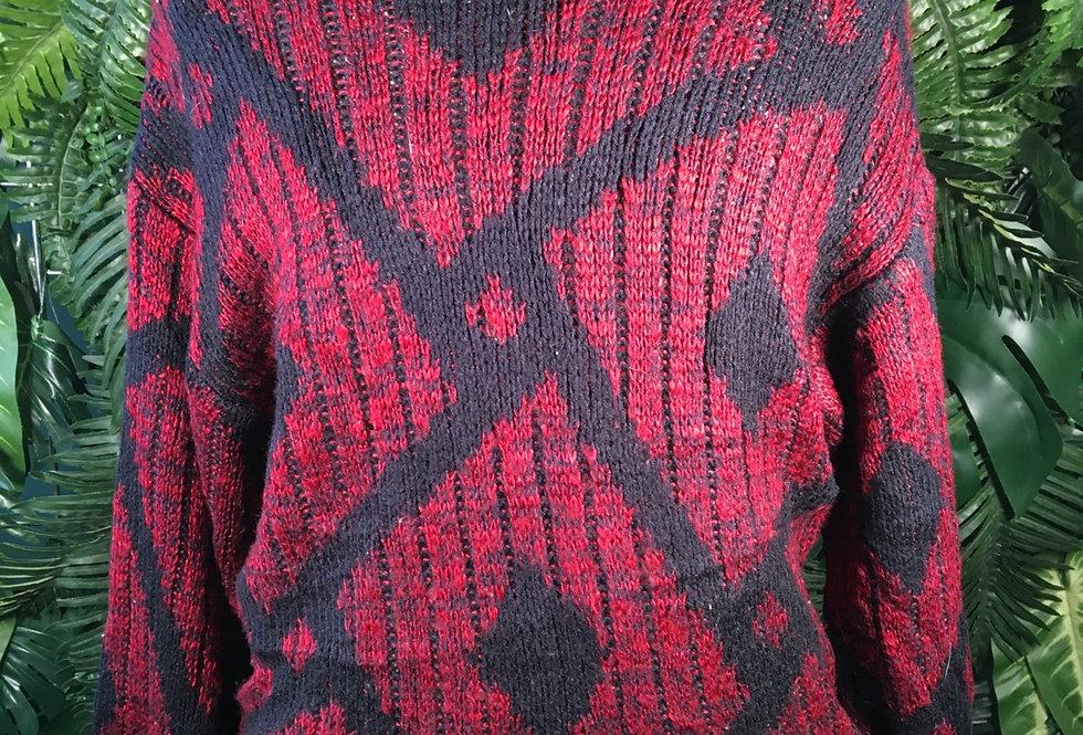 Saturdays Geometric Knit (L)