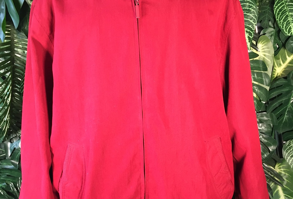 Kingfield red bomber (XL)