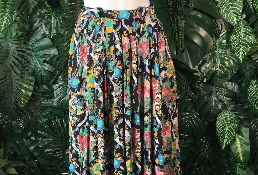 Hirsch floral skirt (size 36)