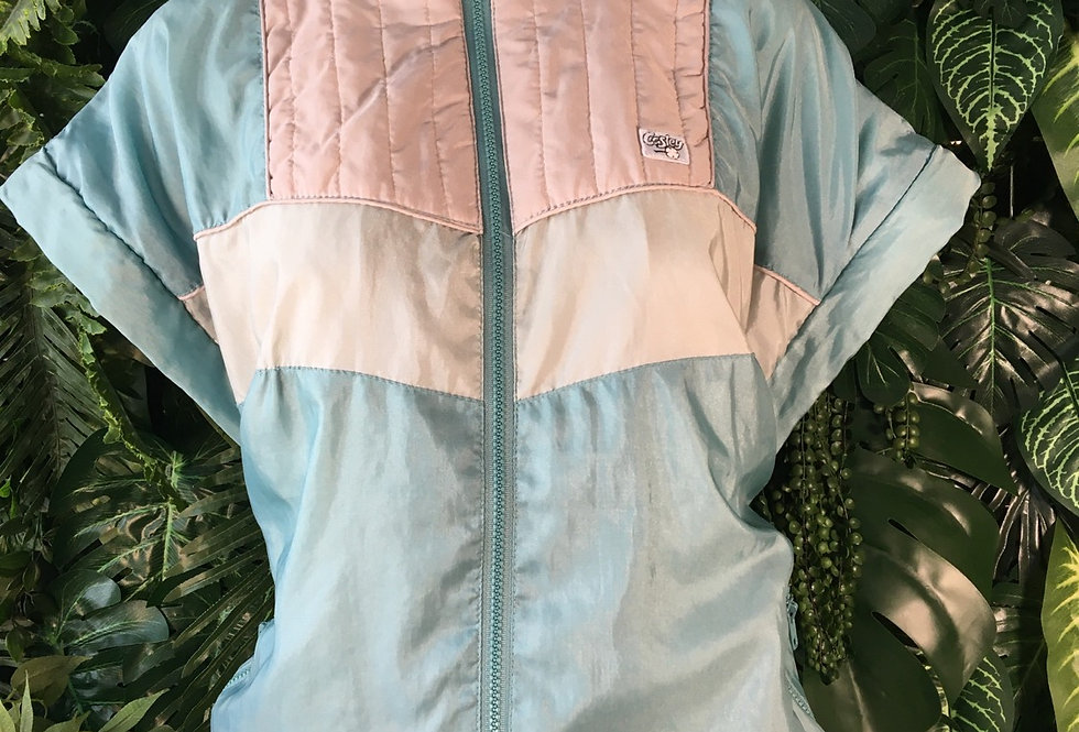 Casley 80s track top with detachable sleeves
