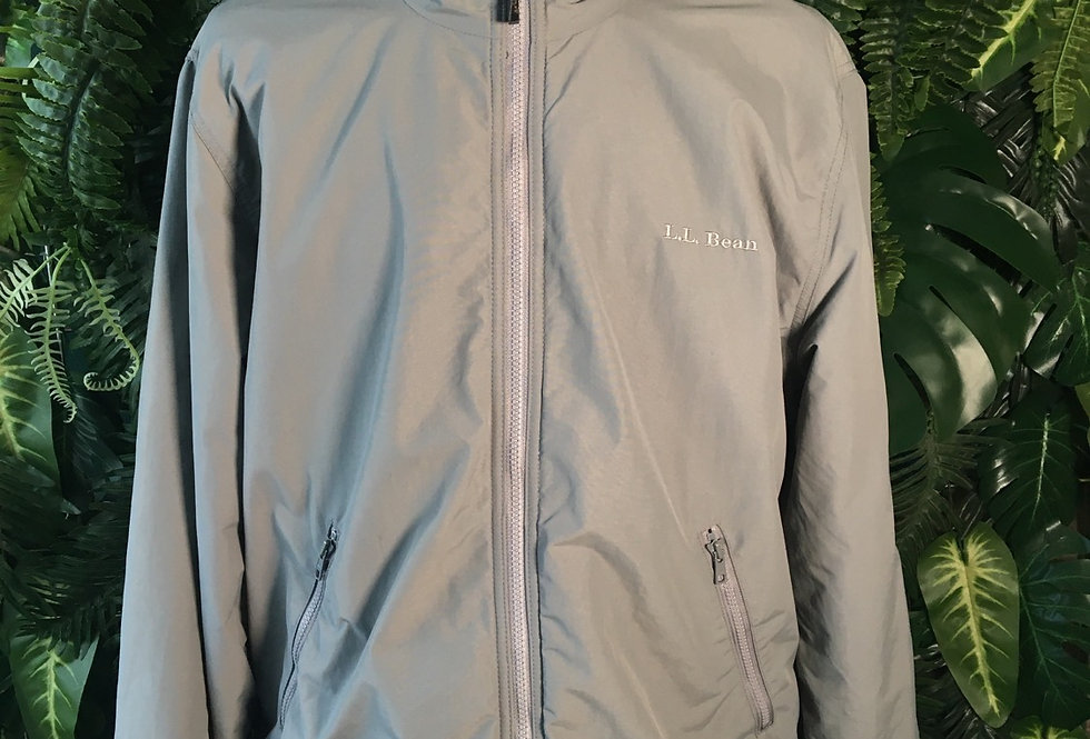 LL Bean fleece lined jacket