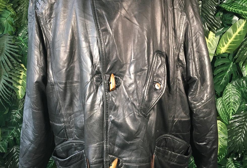 Taboada 90s leather coat