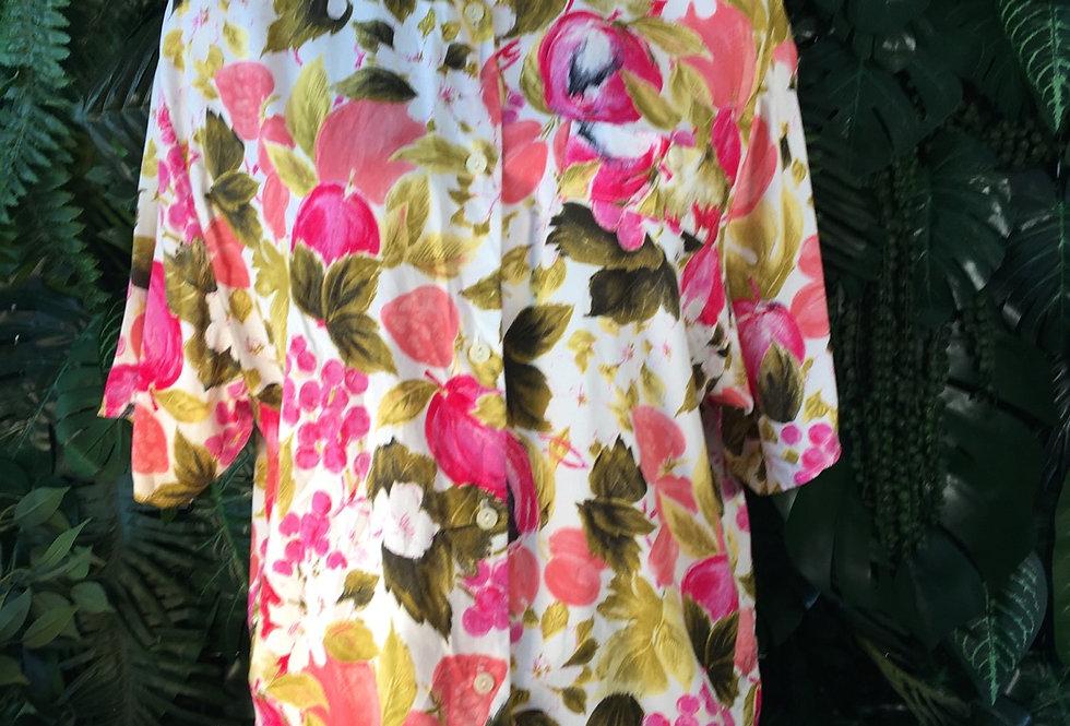 C&A floral shirt (size 42)