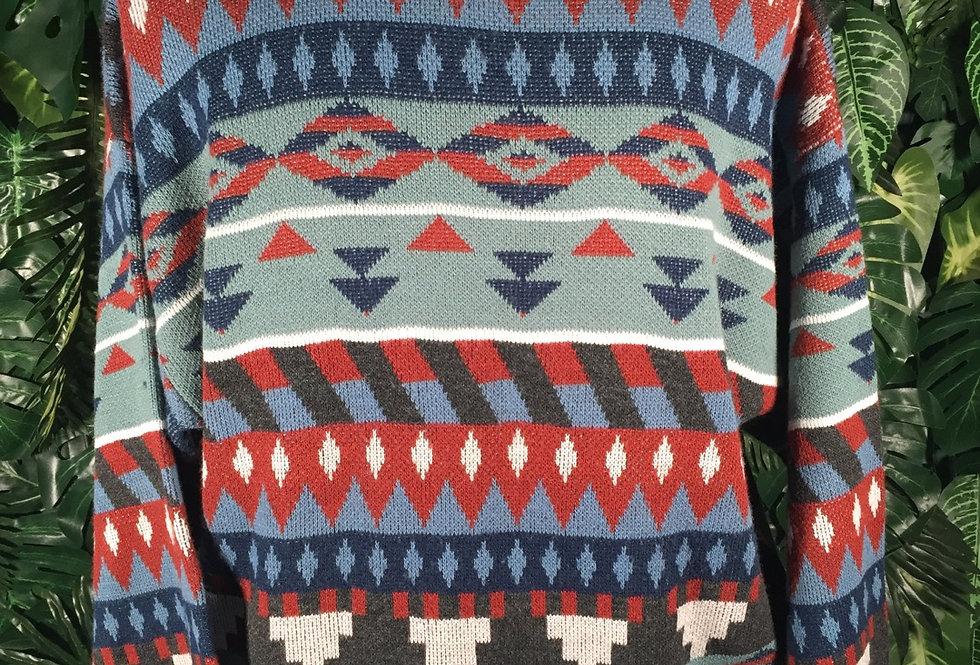 Centro graphic knit (L)