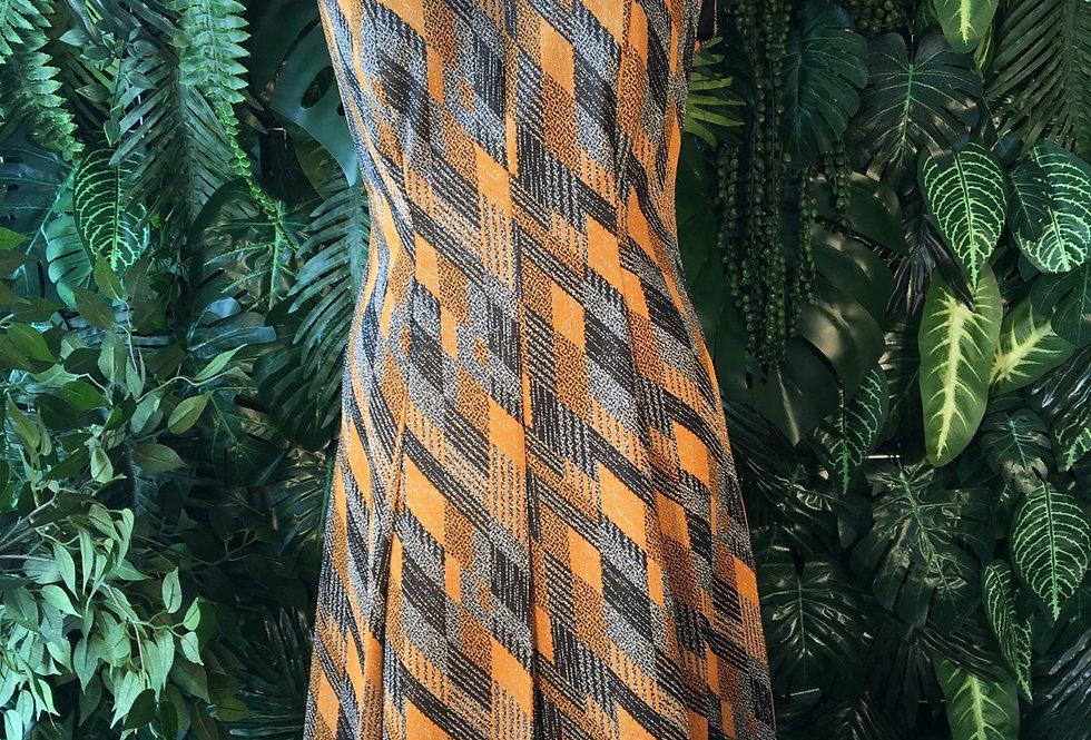 Vintage 1970s Trevira dress (size 44)