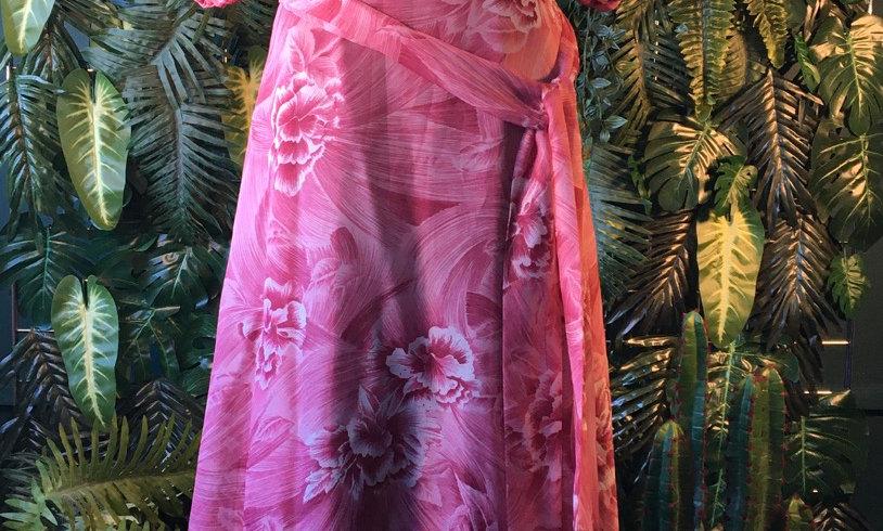 Floral Half Sleve Dress