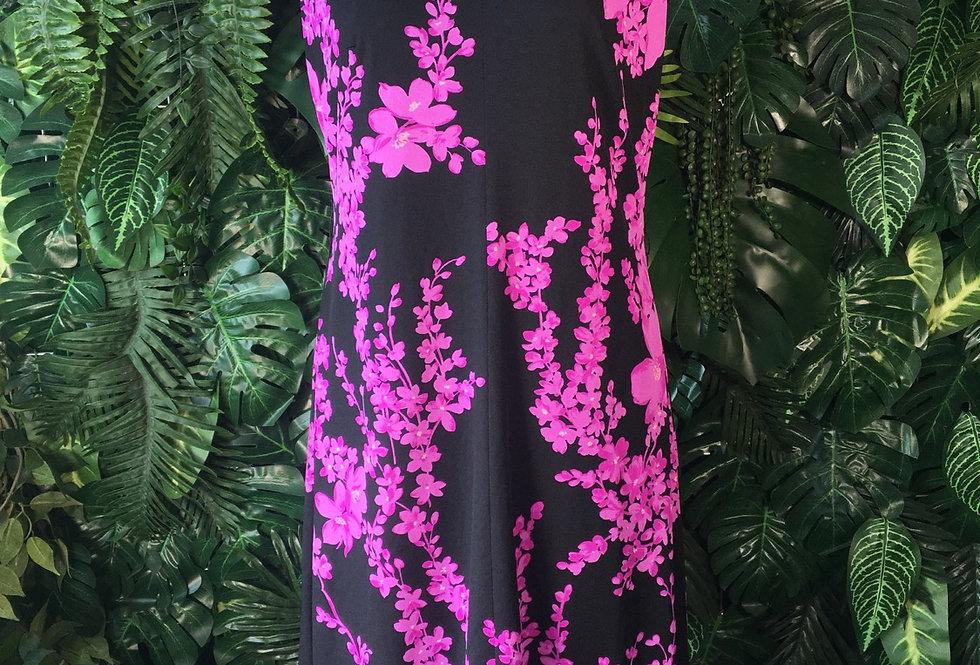 Verena Modelle purple blossom dress (size 44)