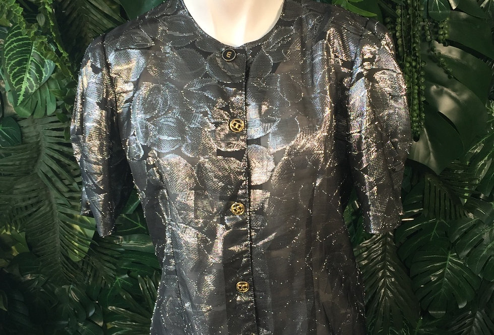 C&A shimmer blouse (size 44)