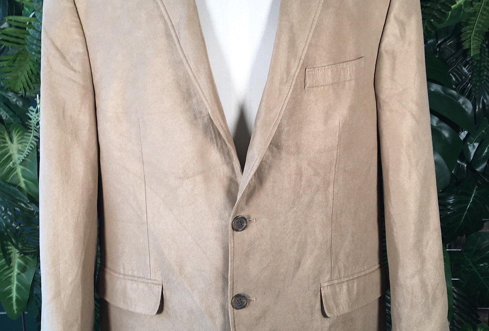 Chaps Ralph Lauren light camel blazer