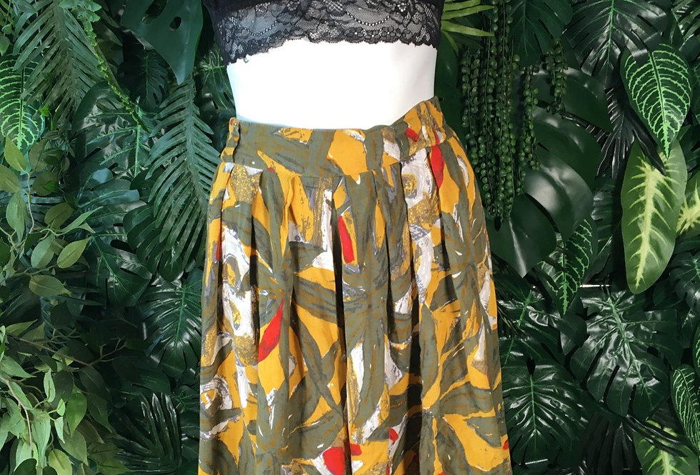 90s printed culottes (size 14)