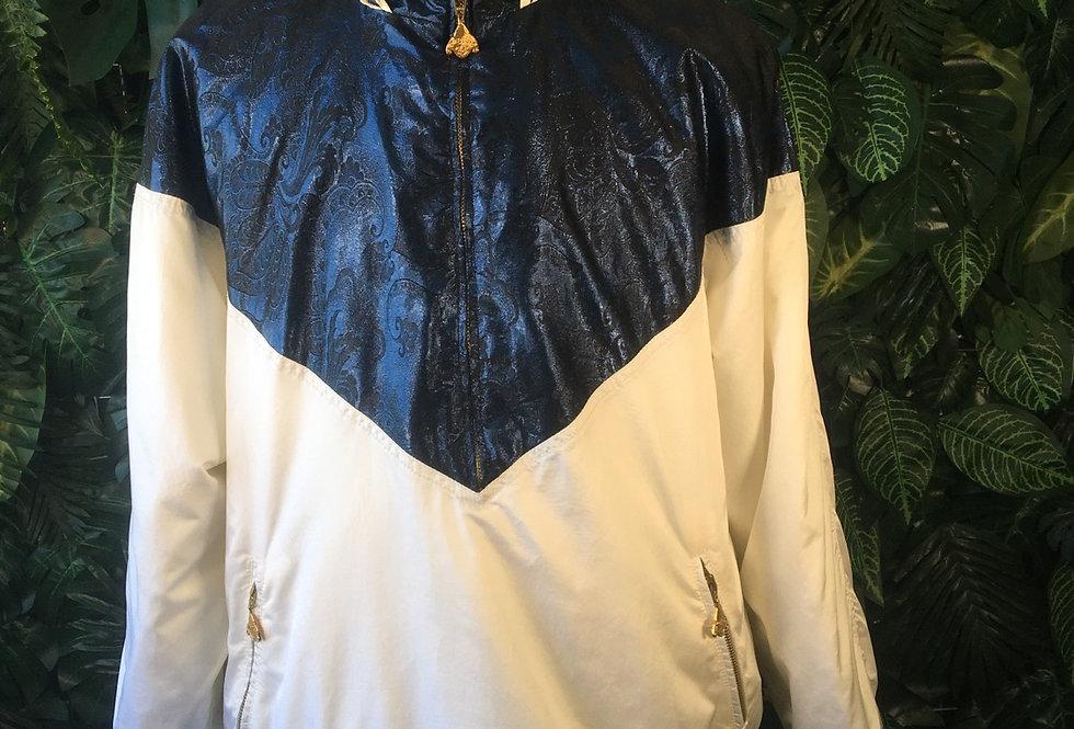 Madison 90s ski jacket with paisley shimmer detail