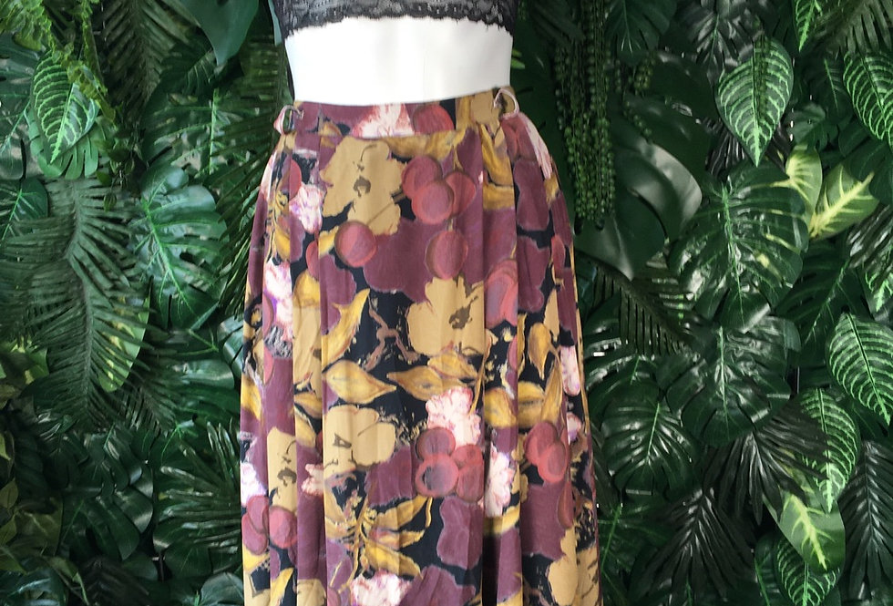 Floral skirt (size 43)