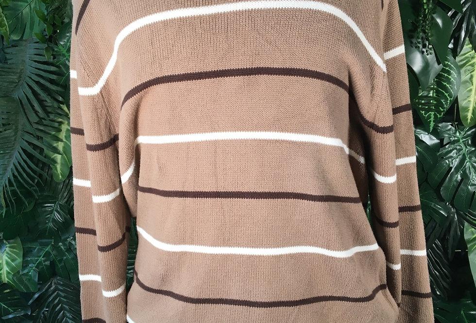 At Johns Bay striped knit