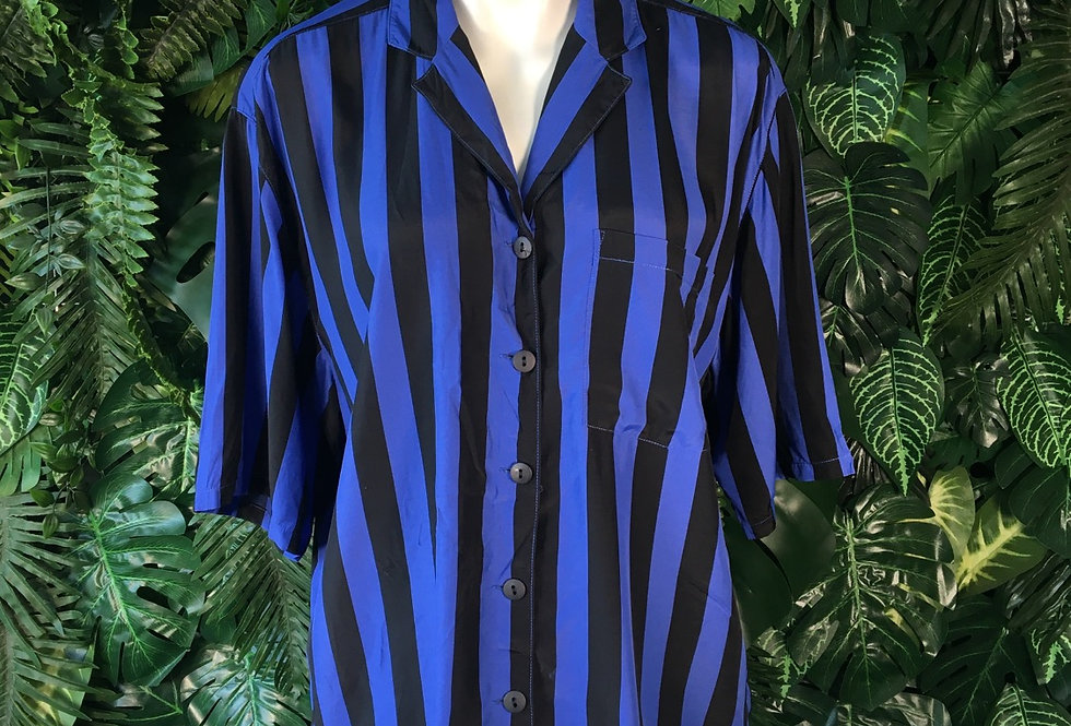 She striped blouse (S)