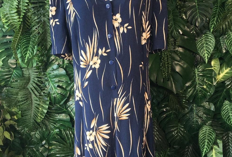 Afibel 90s floral dress (size 54)