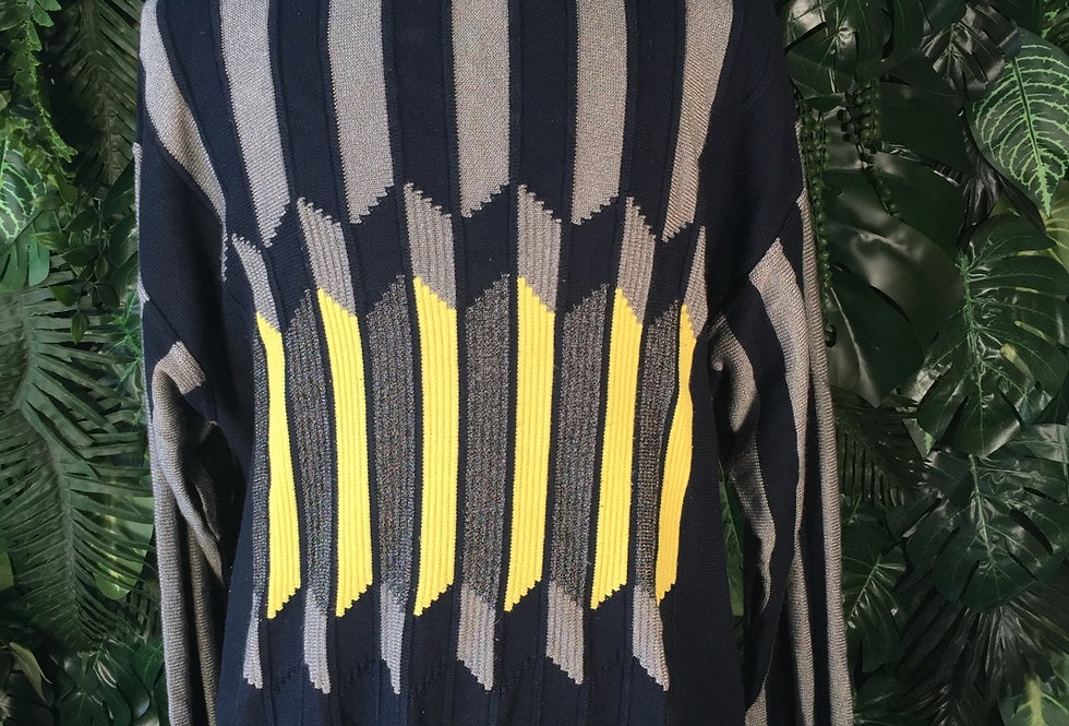 Original Carlo Colucci graphic knit (XL)