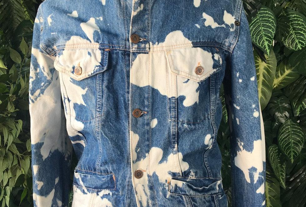 Custom reworked denim jacket (M)
