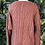 Thumbnail: Pulled wool design Aran knit