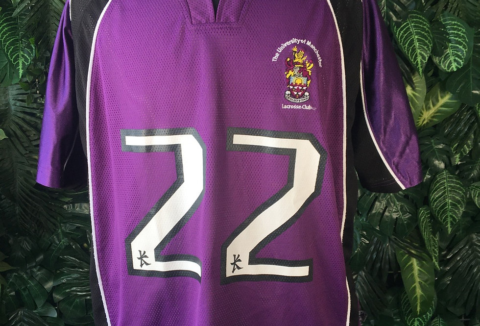 Manchester Lacrosse jersey (L)