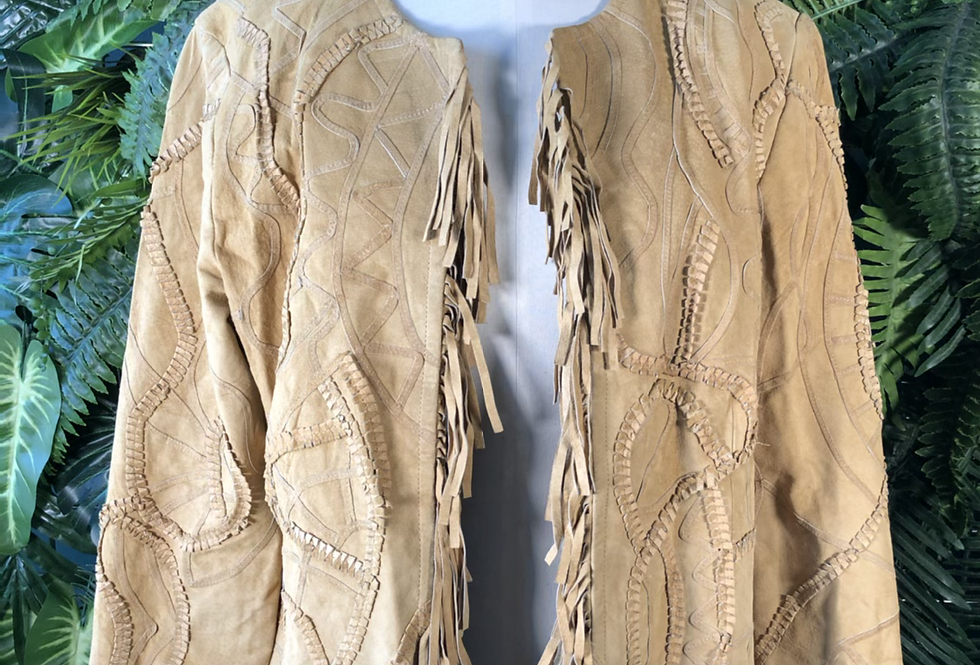 Chico's tassel jacket