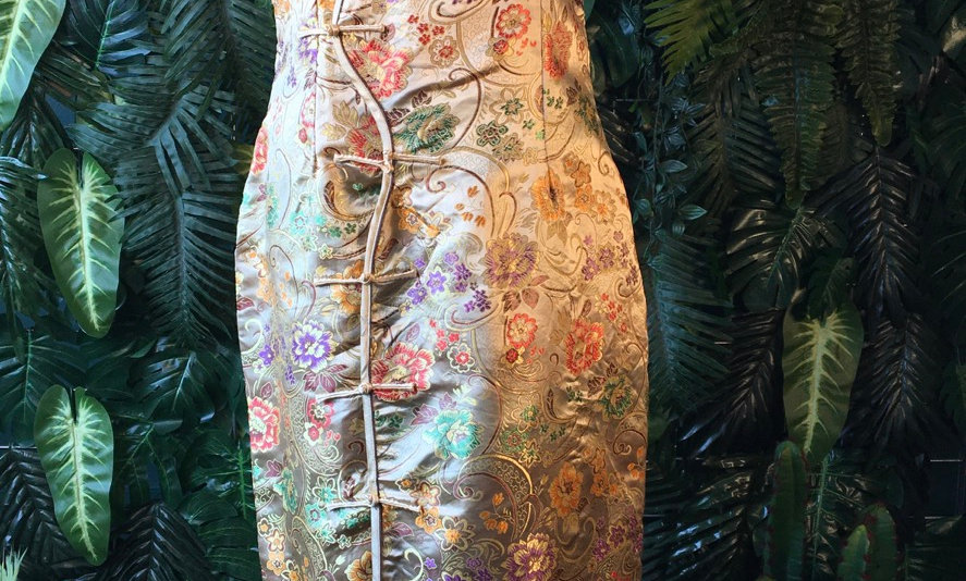 Embroidered Chinese Style Dress