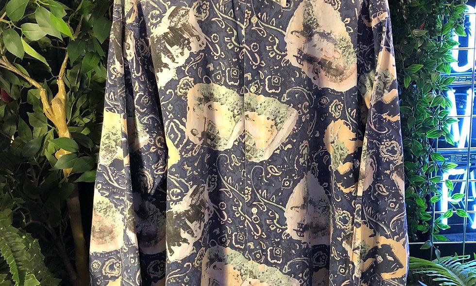 90s printed shirt