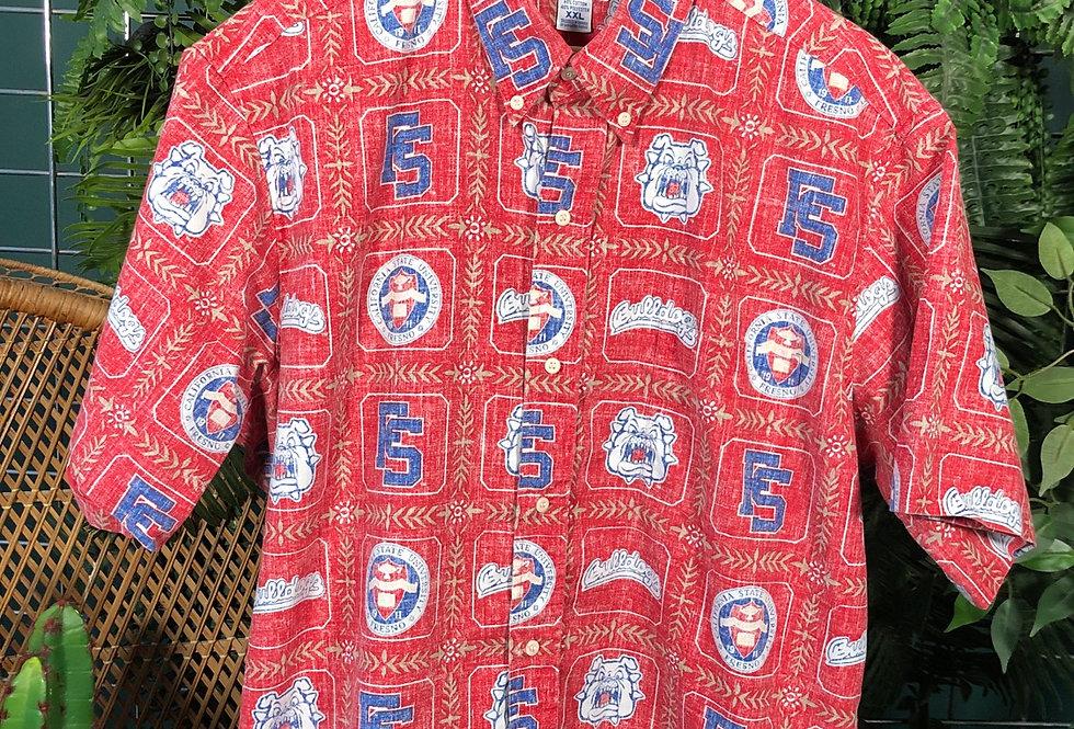 Reyn spooner bulldogs shirt