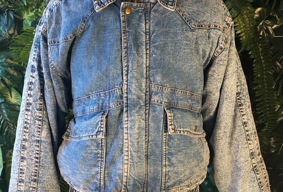 Mountain Crest 80s Padded Denim Jacket