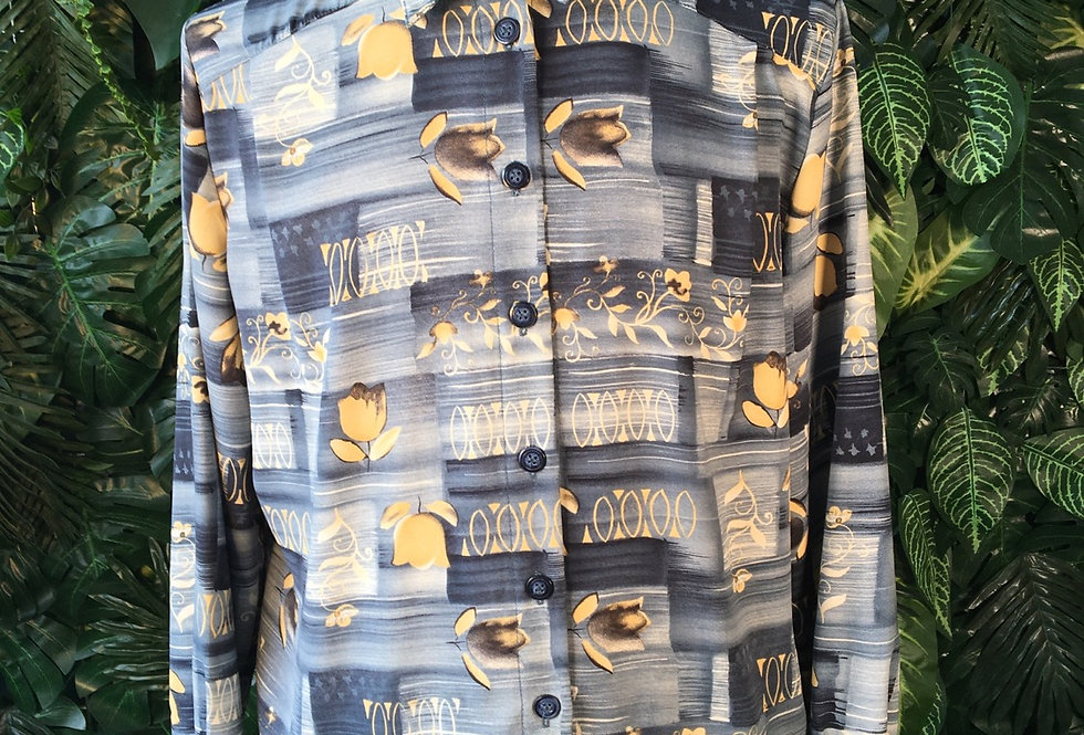 Biaginni 90s printed shirt (L)