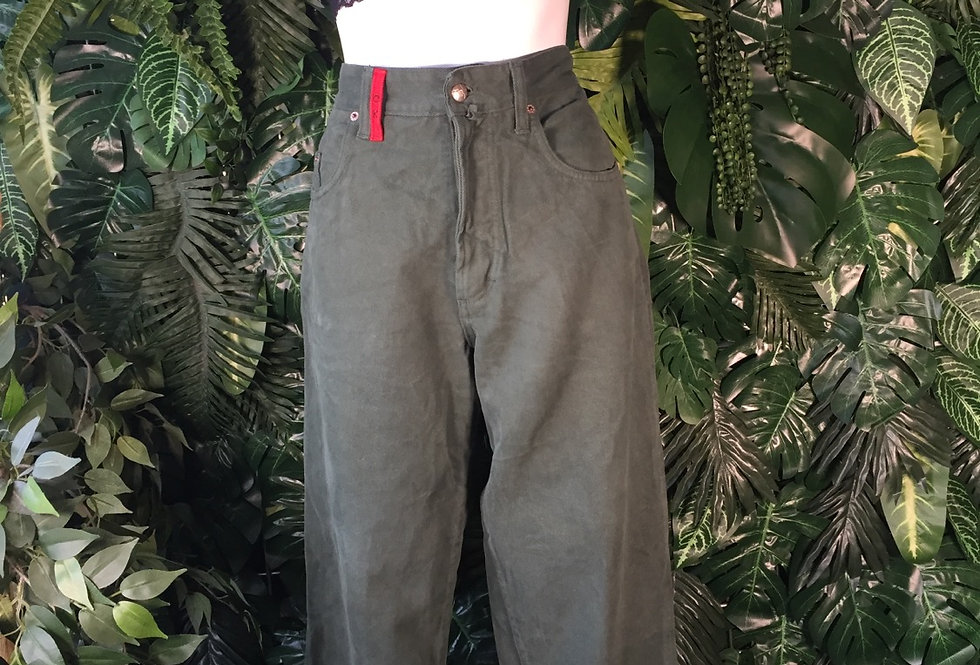 Otto Kern green jeans (size 14)