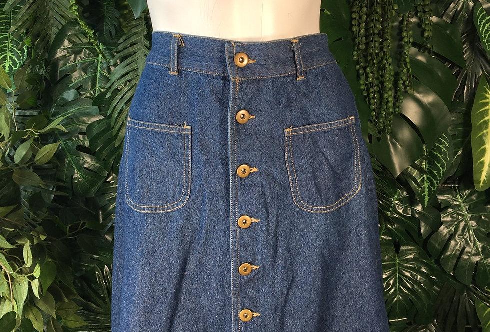 Denim skirt (size 8)