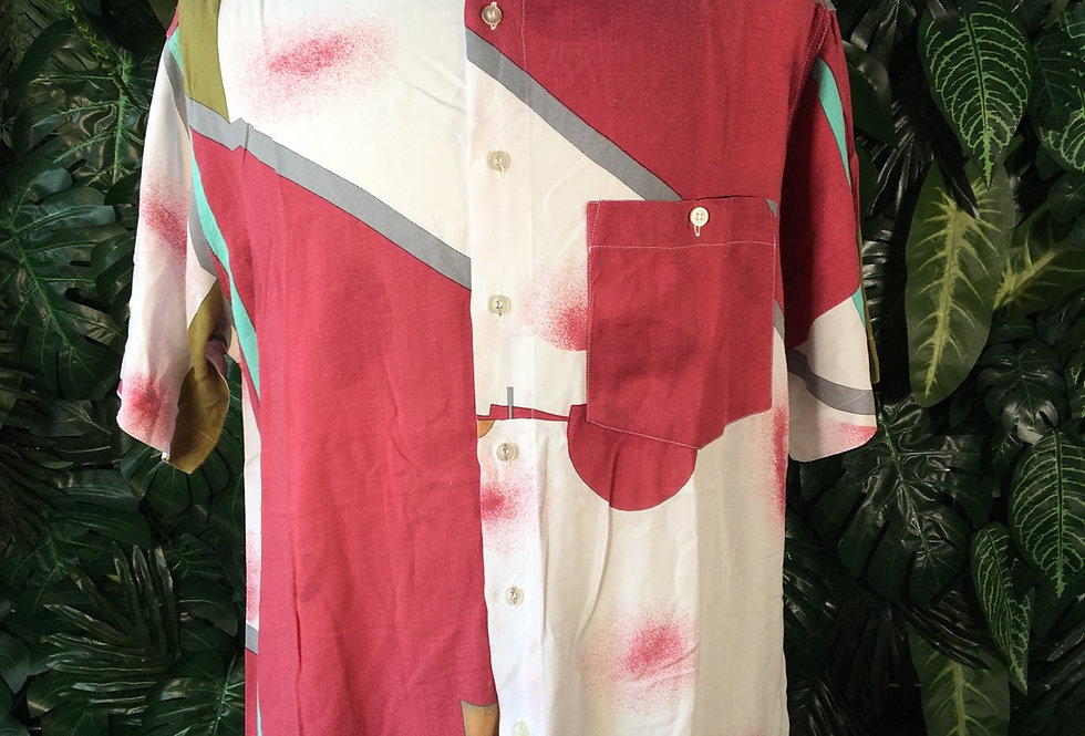 Abstract summer shirt (L)
