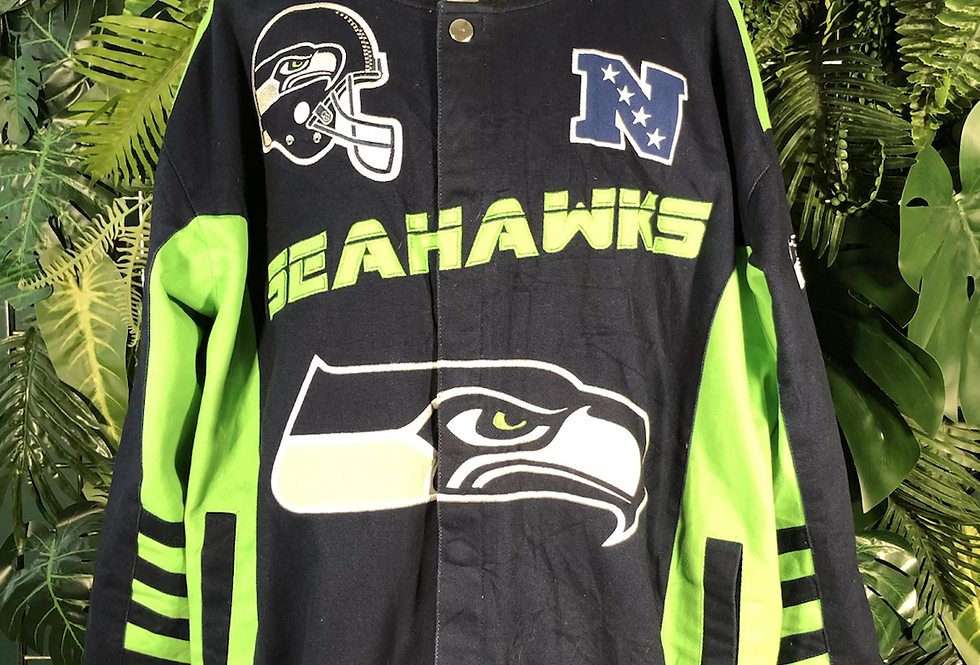 Seahawks NFL charger jacket