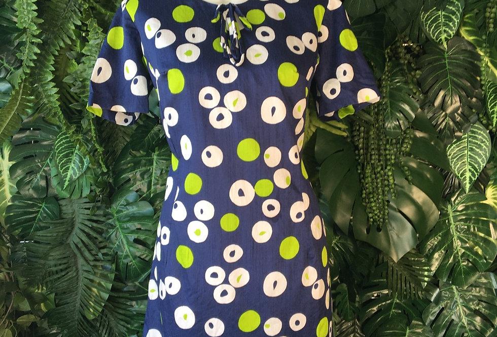 Graphic print dress (size 16)