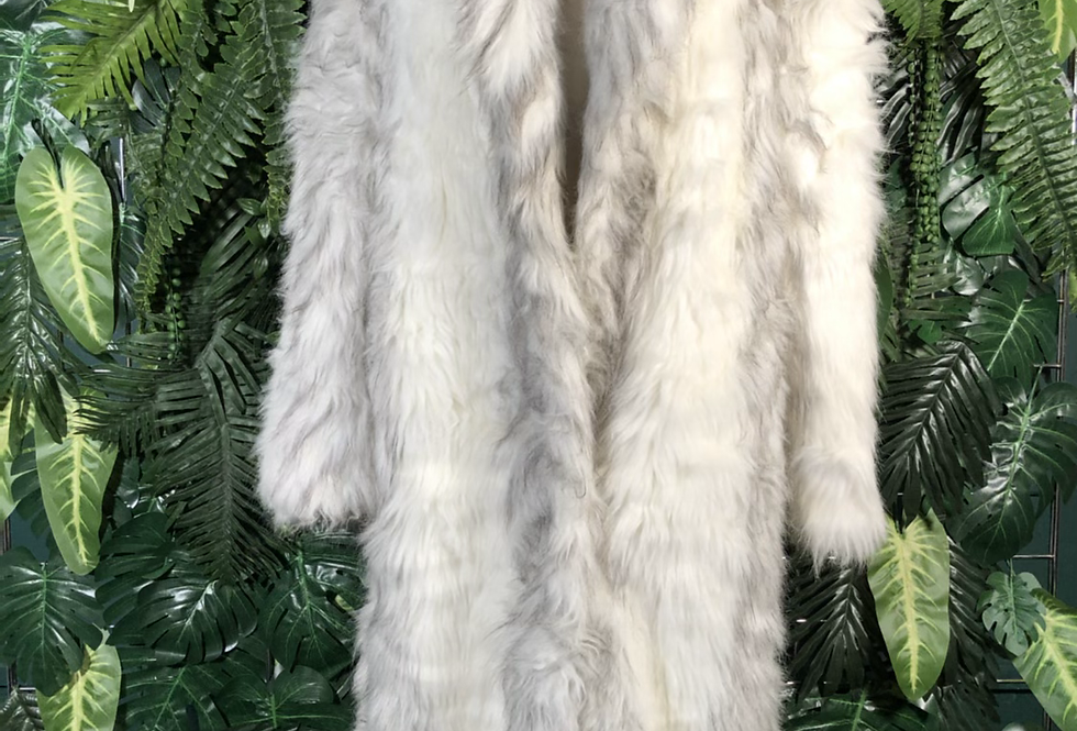 Casper artic faux fur