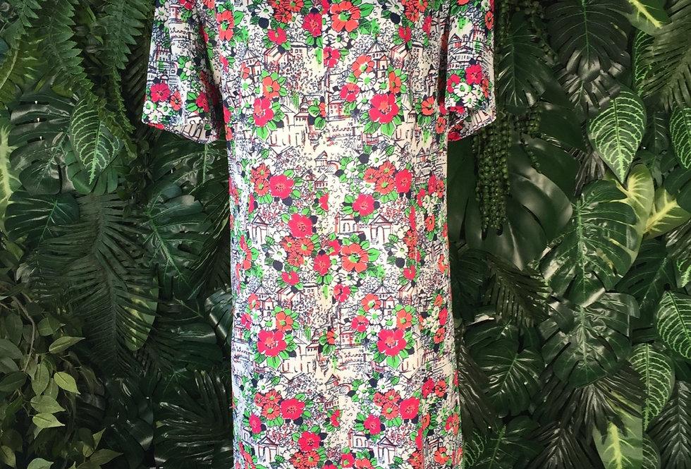 Cute floral dress (size 22)