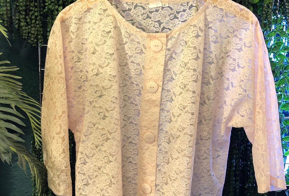 Lace 90s blouse
