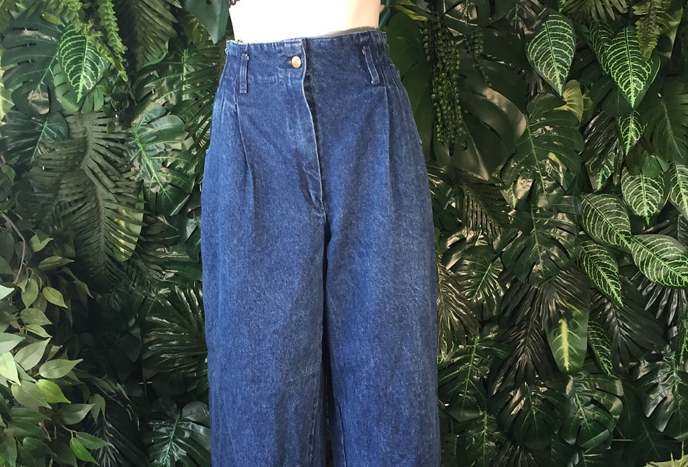 Fade out wide leg jeans (size 16)