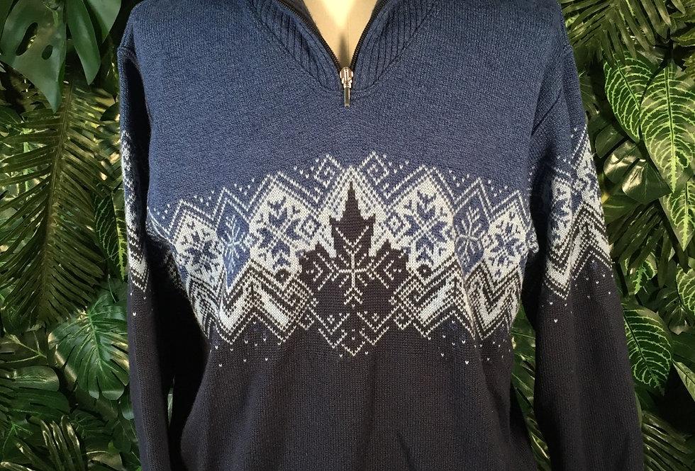 Les Corps snowflake knit (size 52)