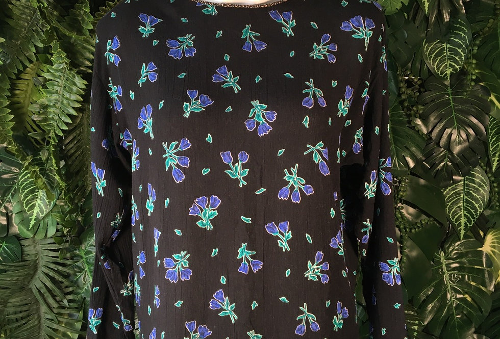 First Option floral blouse (S)