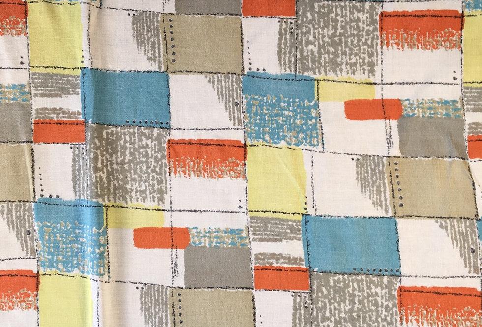 90s print fabric