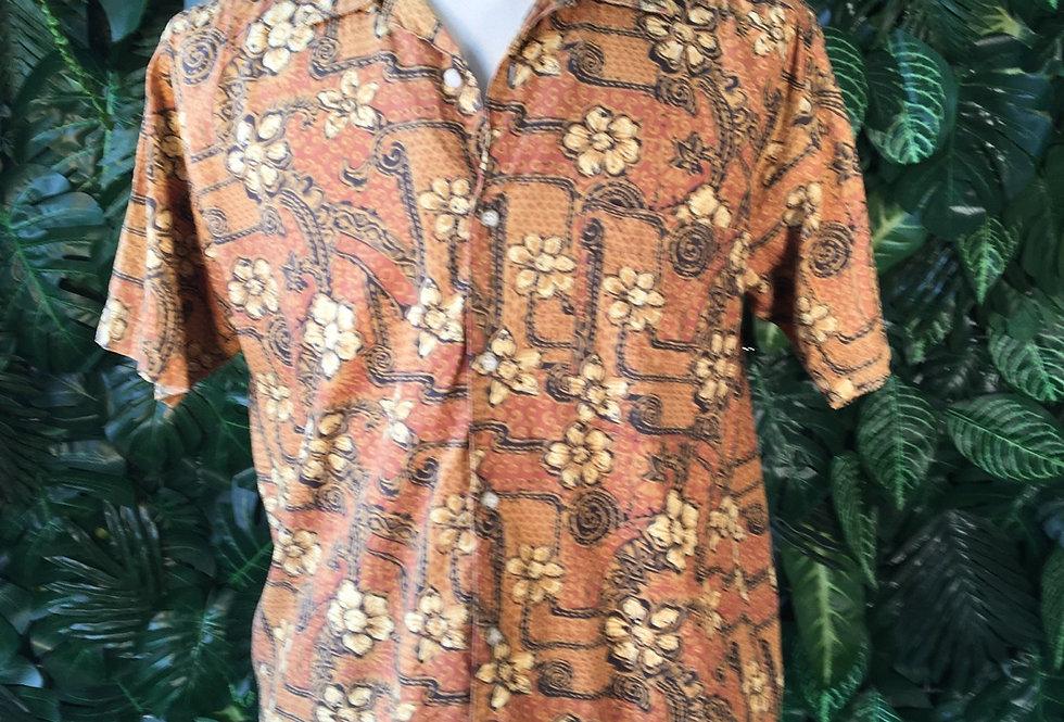 Laurel Club Hawaiian shirt (M)