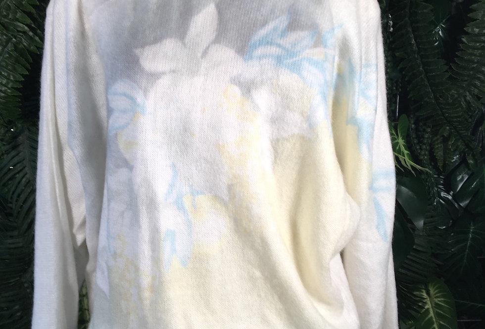 Light Floral Sweater