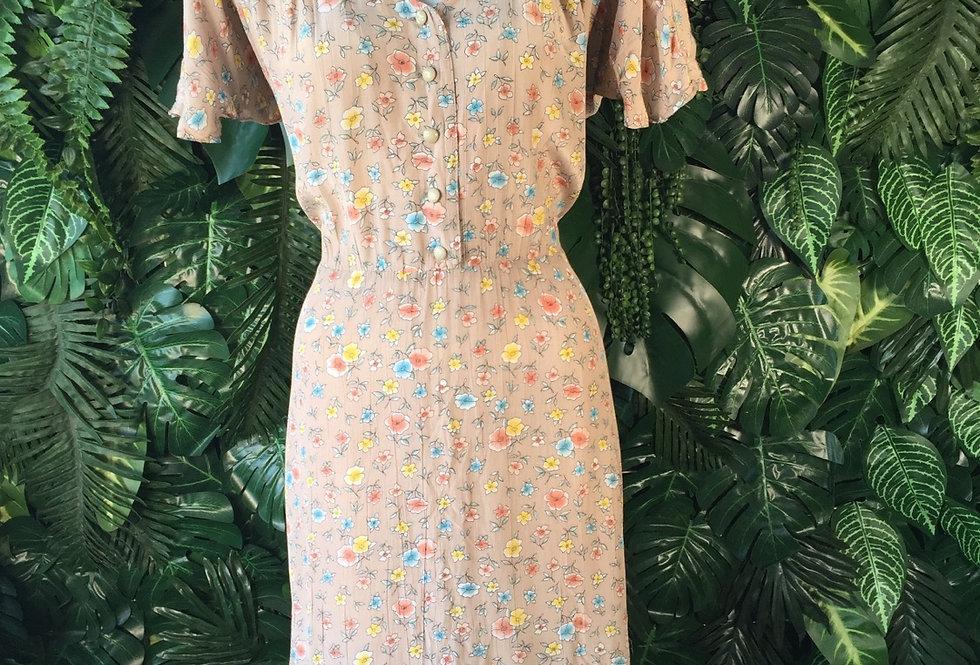 Fawn flower dress (size 18)