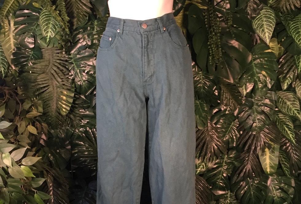 Club sea green jeans (size 12)