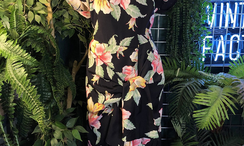 1990s tropical 🌴 joop dress