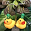 Thumbnail: Rubber duck earrings