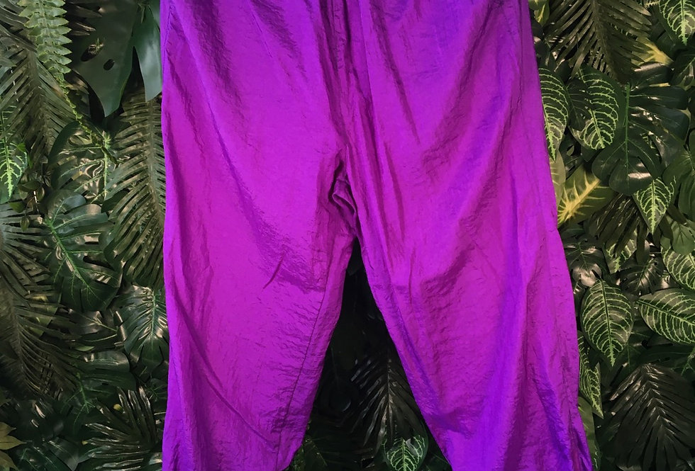 Rodeo purple track bottoms (size 46)